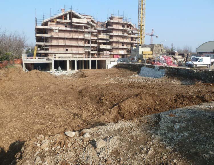 Gennaio 2011 - Inizio scavo