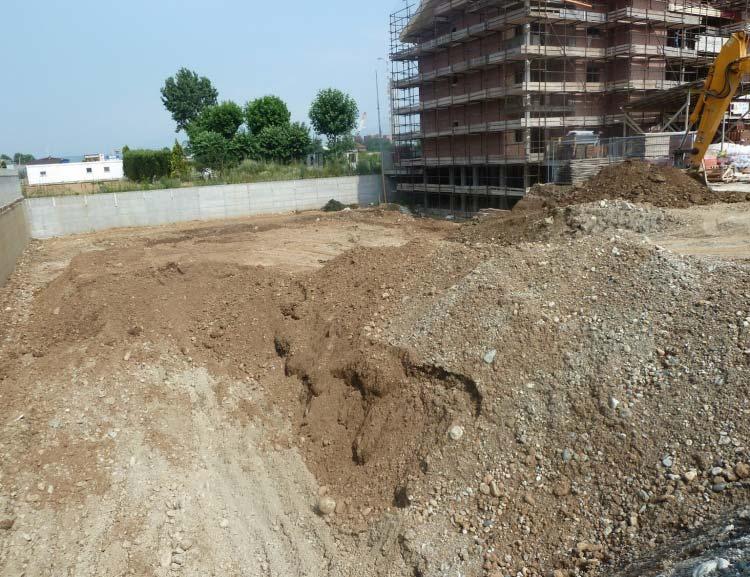 Luglio 2011 -  Inizio scavo